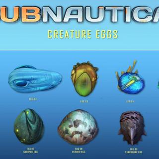 Una lista de los huevos de criaturas, tomada del Twitter oficial de <a href=