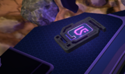 Purple artifactt
