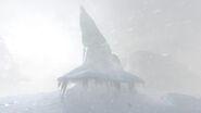Arctic Spires Heavy Fog