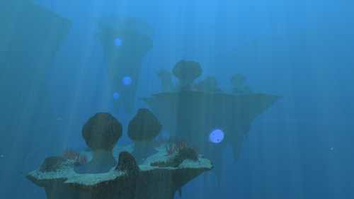 Underwater Islands