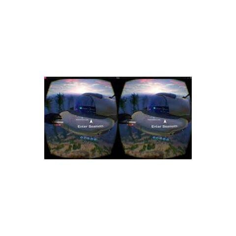 Un Seamoth en VR.