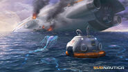 Concept-Art crashed-ship-by-cory-strader