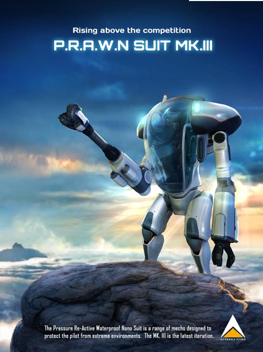 Prawn Suit Subnautica Wiki Fandom Powered By Wikia