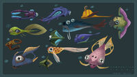 Fauna Concept Art