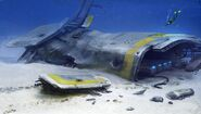 Crashed Starship2