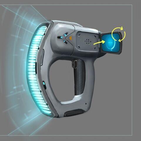 Concepto de arte del escáner.
