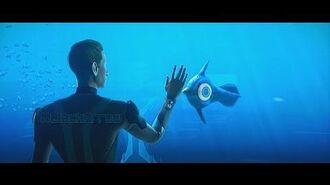 Subnautica Cinematic Trailer Subnautica новый Трейлер релиз v 1.0 Subnautica Survival BlackArrow