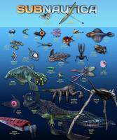 Subnautica Fauna Sheet 1