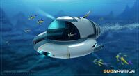 Concept-art-seamoth-submersible-by-pat-presley-the-art-of-subnautica
