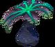 Blue Palm Flora