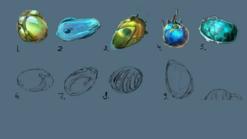 Concept-Art Eggs