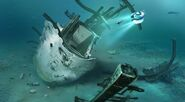 Crashed Starship