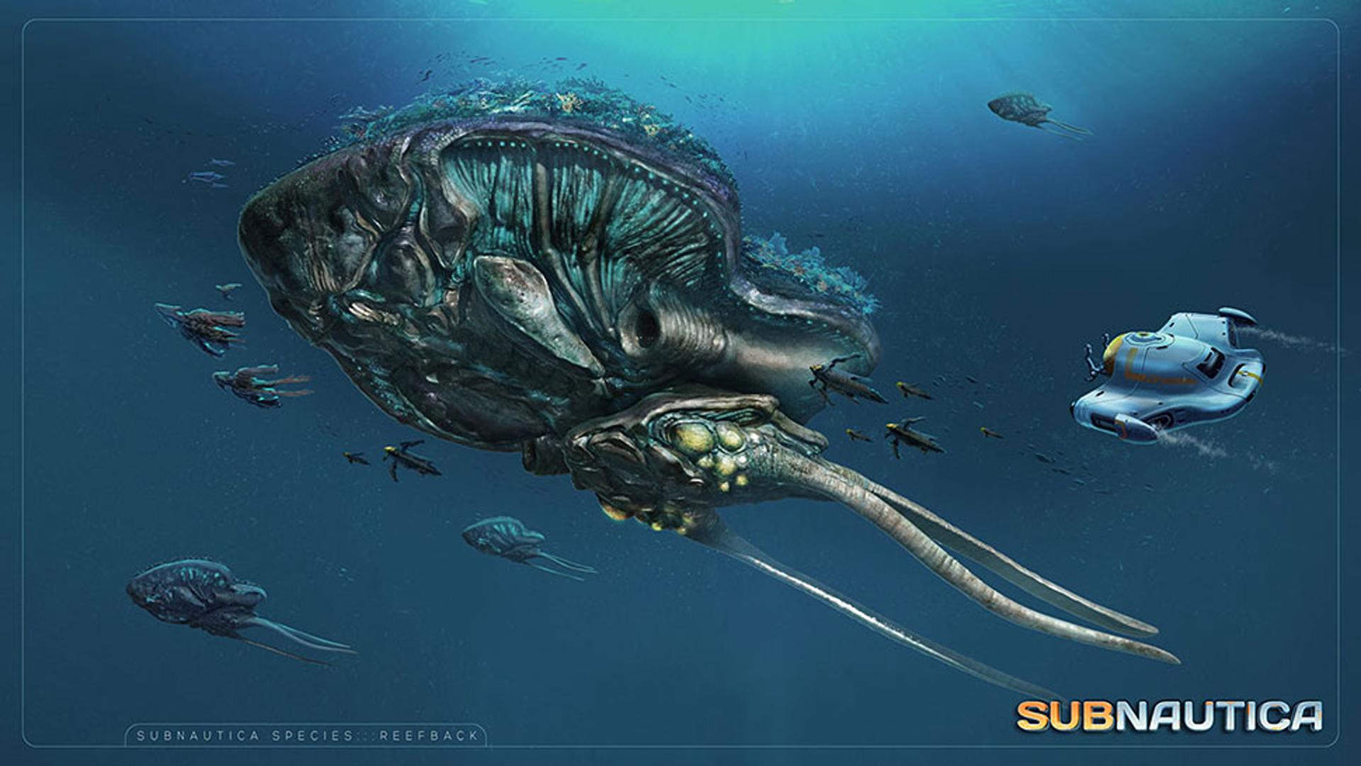 Reefback Concept Art