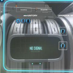 Interfaz antigua de la consola de mejoras