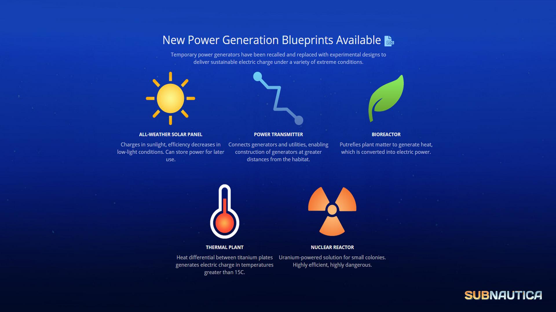 Image power generator blueprintsg subnautica wiki fandom power generator blueprintsg malvernweather Image collections