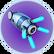Canon à propulsion de combinaison Prawn