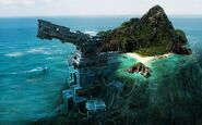 Art Precursor Gun island