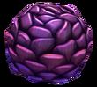 紫色の松ぼっくり植物相