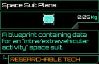 Space Suit Plans
