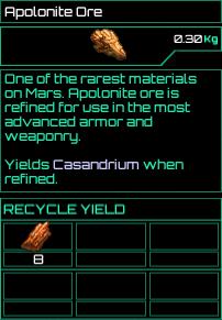 Apolonite Ore