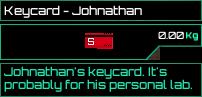 Keycard Johnathan