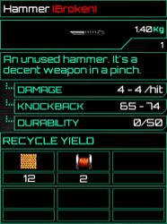 Hammer Broken