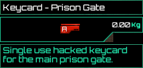 Keycard Prison Gate