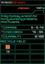 Wrench Broken