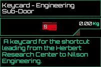 Keycard Engineering Subdoor