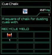 Cue Chalk