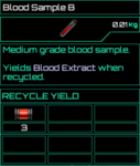 Blood Sample B