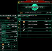 RVGR-XU Plasma Launcher