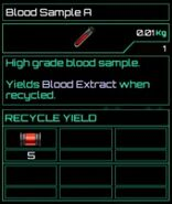 Blood Sample A