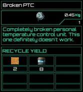 Broken PTC