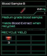 Blood Sample B