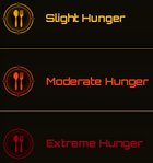 Hunger Icons