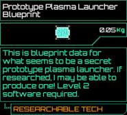 Prototype Plasma Launcher Blueprint