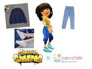 Mina's Navy Blue Outfit