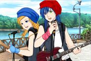 Manga Rebels Coco and Freya