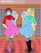 Anime Maid Coco and Freya