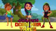 Jolien Does Her Taxes Wallpaper