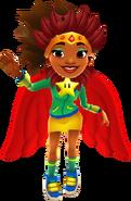 Carmen Winged Samba Outfit