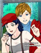 Anime Couple Coco and Hugo