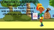 Carmen Commits Tax Fraud Good Ending