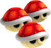 Triple Red Shell - Mario Kart Wii