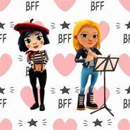 BFF Backgroud Coco and Freya