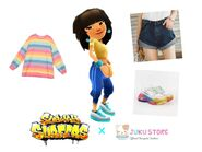 Mina's Rainbow Outfit
