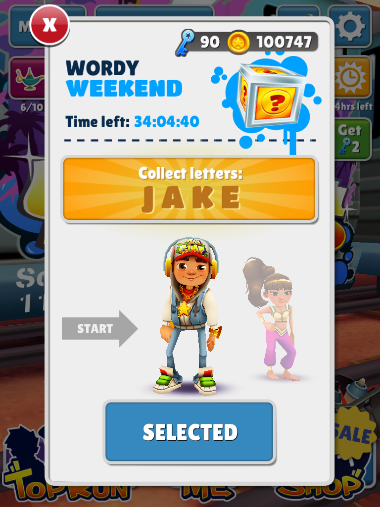 wordy weekend subway surfers wiki fandom powered by wikia