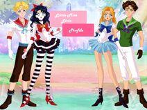 Sailor Hugo,Coco, Freya and Jaro Profile Greeting