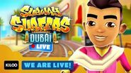 🔴 Subway Surfers Live in Dubai - Gameplay Livestream